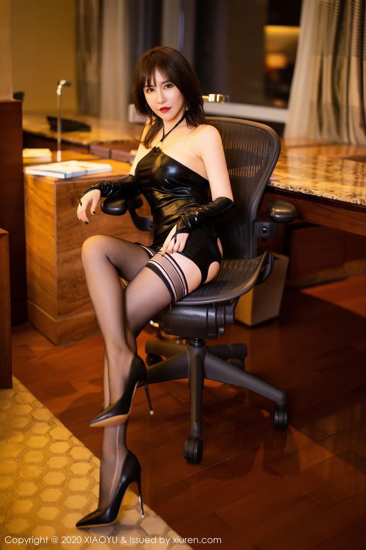 [XiaoYu] Vol.297 Xia Xiao Wei 25P, Black Silk, Tall, Xia Xi Zi, XiaoYu