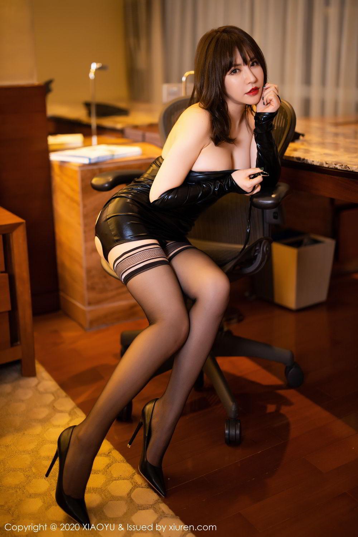 [XiaoYu] Vol.297 Xia Xiao Wei 30P, Black Silk, Tall, Xia Xi Zi, XiaoYu