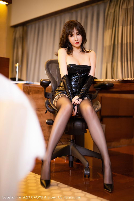 [XiaoYu] Vol.297 Xia Xiao Wei 34P, Black Silk, Tall, Xia Xi Zi, XiaoYu