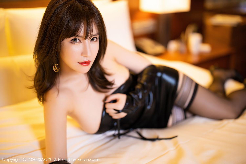 [XiaoYu] Vol.297 Xia Xiao Wei 43P, Black Silk, Tall, Xia Xi Zi, XiaoYu