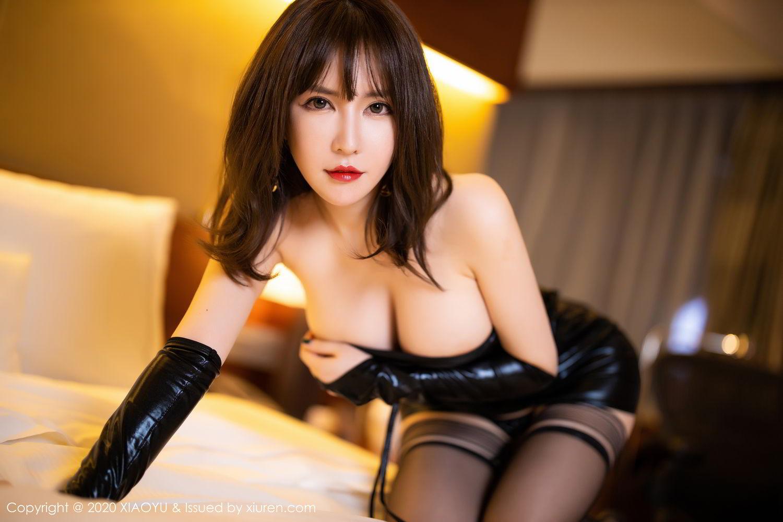 [XiaoYu] Vol.297 Xia Xiao Wei 48P, Black Silk, Tall, Xia Xi Zi, XiaoYu