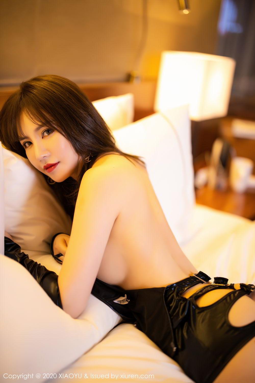 [XiaoYu] Vol.297 Xia Xiao Wei 5P, Black Silk, Tall, Xia Xi Zi, XiaoYu