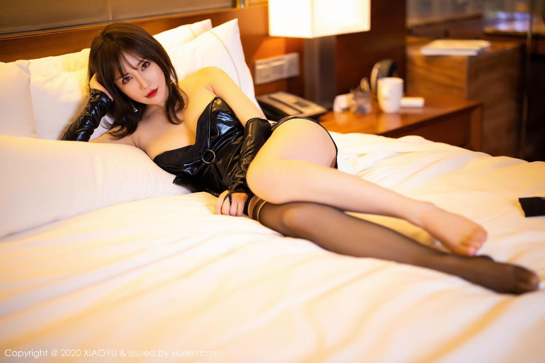 [XiaoYu] Vol.297 Xia Xiao Wei 61P, Black Silk, Tall, Xia Xi Zi, XiaoYu