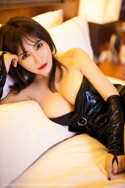 [XiaoYu] Vol.297 Xia Xiao Wei 62P, Black Silk, Tall, Xia Xi Zi, XiaoYu