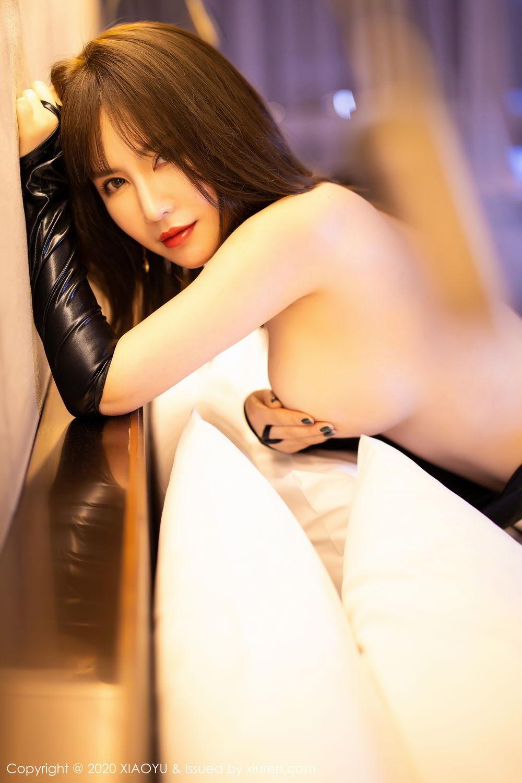 [XiaoYu] Vol.297 Xia Xiao Wei 65P, Black Silk, Tall, Xia Xi Zi, XiaoYu