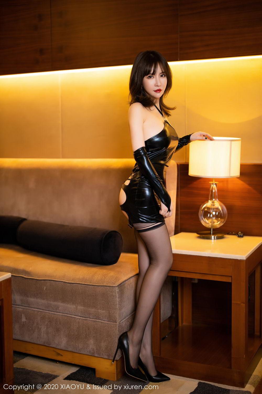 [XiaoYu] Vol.297 Xia Xiao Wei 6P, Black Silk, Tall, Xia Xi Zi, XiaoYu