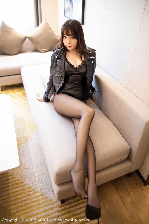 [XiaoYu] Vol.301 Zhi Zhi Booty 31P, Big Booty, Black Silk, Chen Zhi, XiaoYu