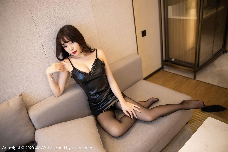 [XiaoYu] Vol.301 Zhi Zhi Booty 42P, Big Booty, Black Silk, Chen Zhi, XiaoYu