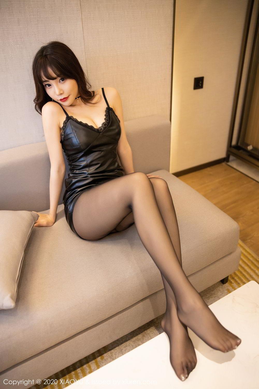 [XiaoYu] Vol.301 Zhi Zhi Booty 45P, Big Booty, Black Silk, Chen Zhi, XiaoYu