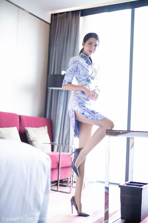 [XiaoYu] Vol.304 Carry 12P, Chen Liang Ling, Cheongsam, Tall, Temperament, Underwear, XiaoYu