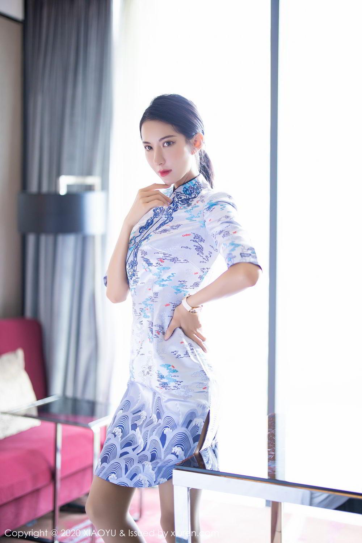 [XiaoYu] Vol.304 Carry 13P, Chen Liang Ling, Cheongsam, Tall, Temperament, Underwear, XiaoYu