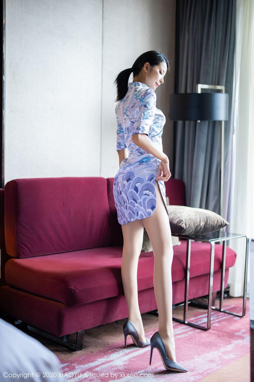 [XiaoYu] Vol.304 Carry 18P, Chen Liang Ling, Cheongsam, Tall, Temperament, Underwear, XiaoYu