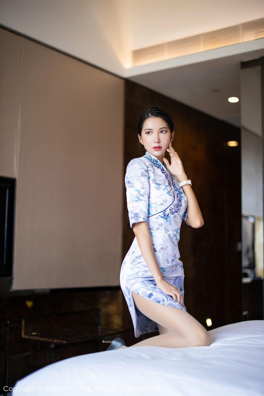 [XiaoYu] Vol.304 Carry 20P, Chen Liang Ling, Cheongsam, Tall, Temperament, Underwear, XiaoYu