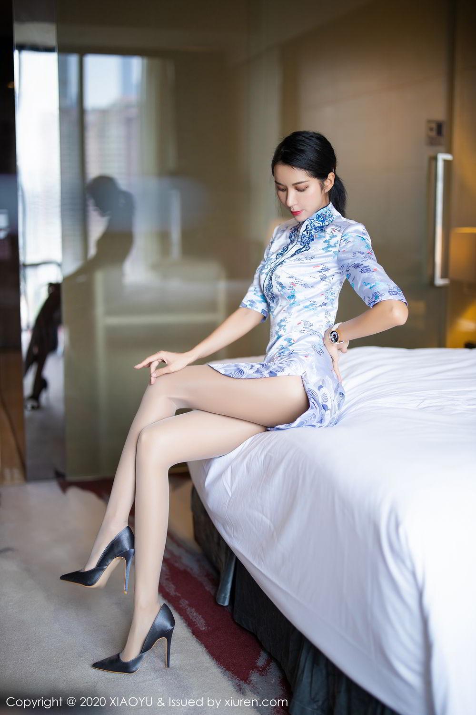 [XiaoYu] Vol.304 Carry 23P, Chen Liang Ling, Cheongsam, Tall, Temperament, Underwear, XiaoYu