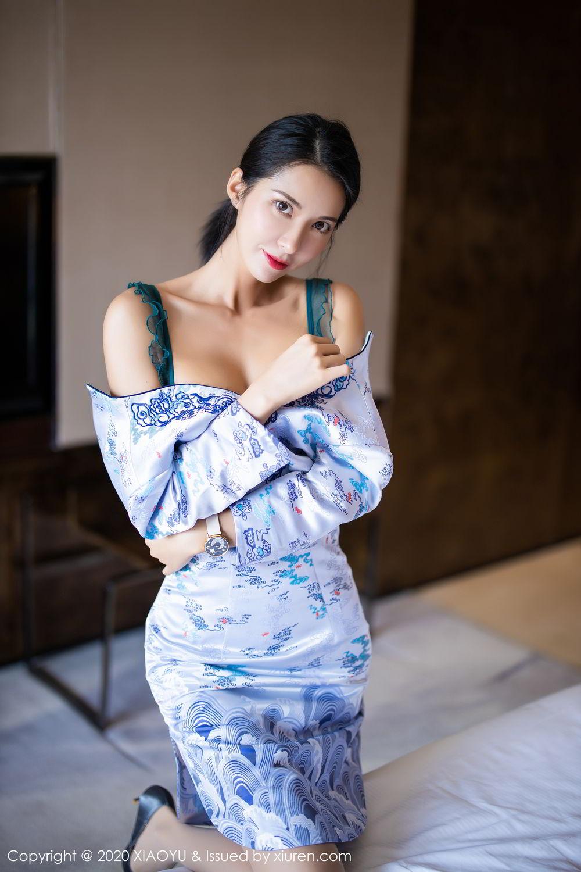 [XiaoYu] Vol.304 Carry 27P, Chen Liang Ling, Cheongsam, Tall, Temperament, Underwear, XiaoYu