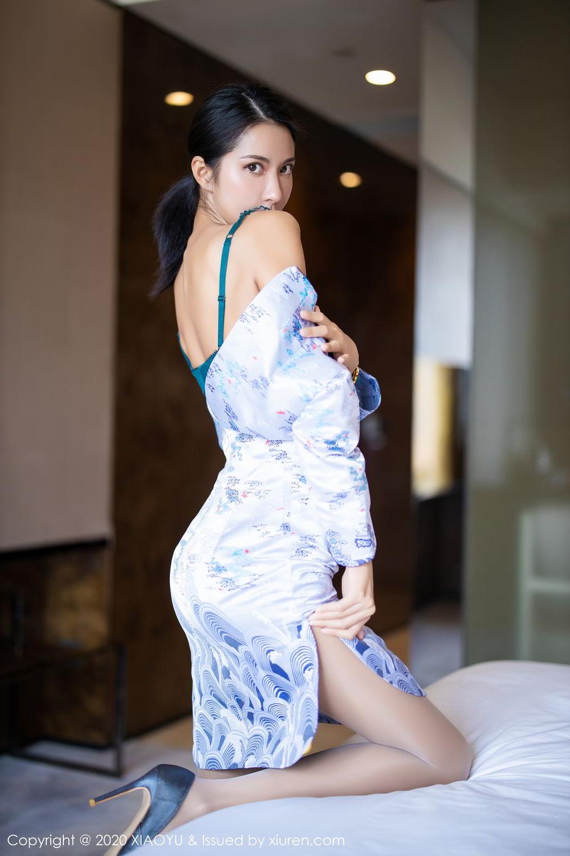 [XiaoYu] Vol.304 Carry 28P, Chen Liang Ling, Cheongsam, Tall, Temperament, Underwear, XiaoYu