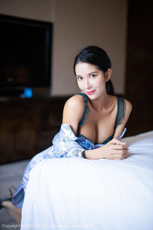 [XiaoYu] Vol.304 Carry 29P, Chen Liang Ling, Cheongsam, Tall, Temperament, Underwear, XiaoYu