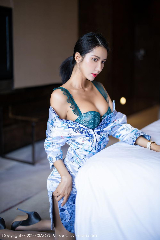 [XiaoYu] Vol.304 Carry 30P, Chen Liang Ling, Cheongsam, Tall, Temperament, Underwear, XiaoYu