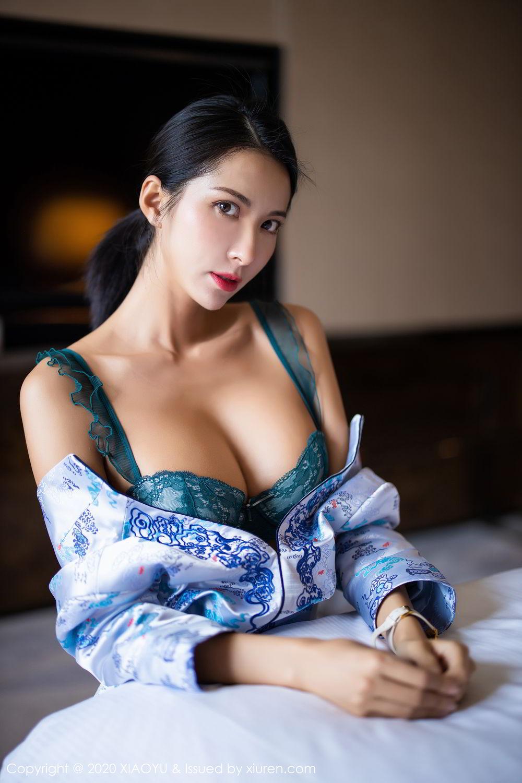 [XiaoYu] Vol.304 Carry 32P, Chen Liang Ling, Cheongsam, Tall, Temperament, Underwear, XiaoYu