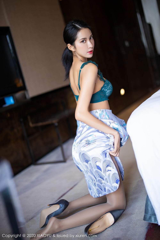 [XiaoYu] Vol.304 Carry 37P, Chen Liang Ling, Cheongsam, Tall, Temperament, Underwear, XiaoYu