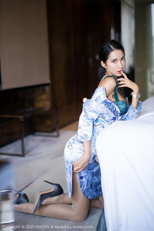 [XiaoYu] Vol.304 Carry 3P, Chen Liang Ling, Cheongsam, Tall, Temperament, Underwear, XiaoYu