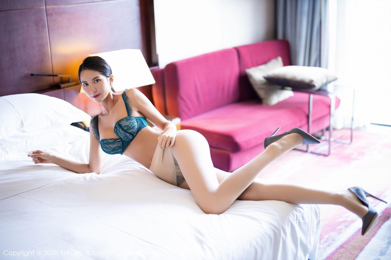 [XiaoYu] Vol.304 Carry 40P, Chen Liang Ling, Cheongsam, Tall, Temperament, Underwear, XiaoYu
