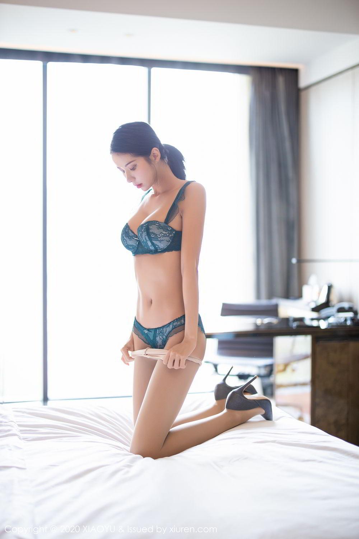 [XiaoYu] Vol.304 Carry 42P, Chen Liang Ling, Cheongsam, Tall, Temperament, Underwear, XiaoYu