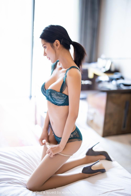 [XiaoYu] Vol.304 Carry 44P, Chen Liang Ling, Cheongsam, Tall, Temperament, Underwear, XiaoYu
