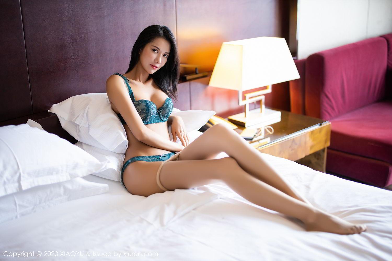 [XiaoYu] Vol.304 Carry 54P, Chen Liang Ling, Cheongsam, Tall, Temperament, Underwear, XiaoYu