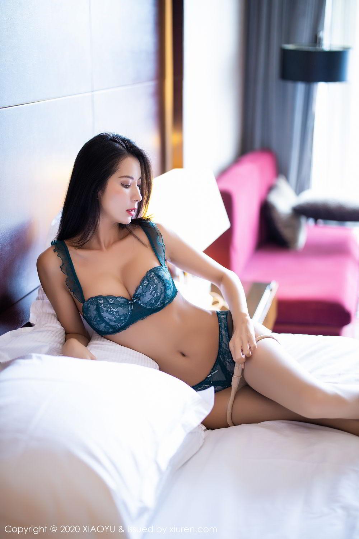 [XiaoYu] Vol.304 Carry 57P, Chen Liang Ling, Cheongsam, Tall, Temperament, Underwear, XiaoYu