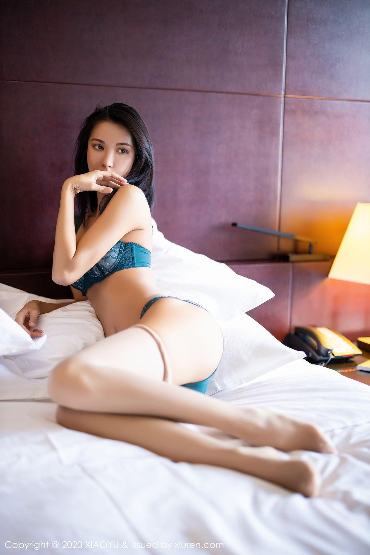 [XiaoYu] Vol.304 Carry 60P, Chen Liang Ling, Cheongsam, Tall, Temperament, Underwear, XiaoYu