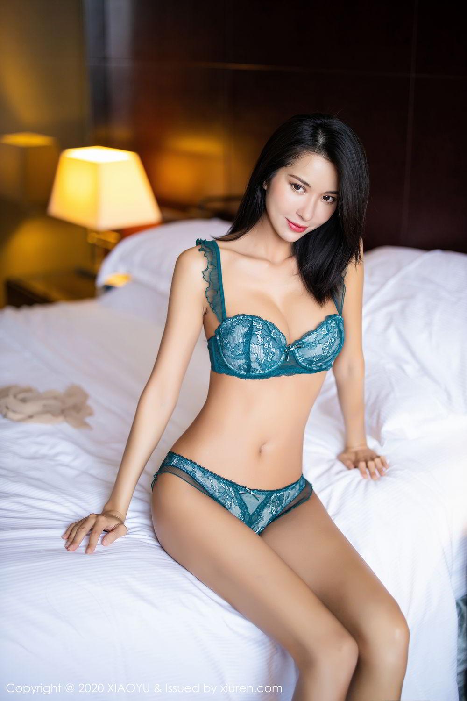 [XiaoYu] Vol.304 Carry 63P, Chen Liang Ling, Cheongsam, Tall, Temperament, Underwear, XiaoYu