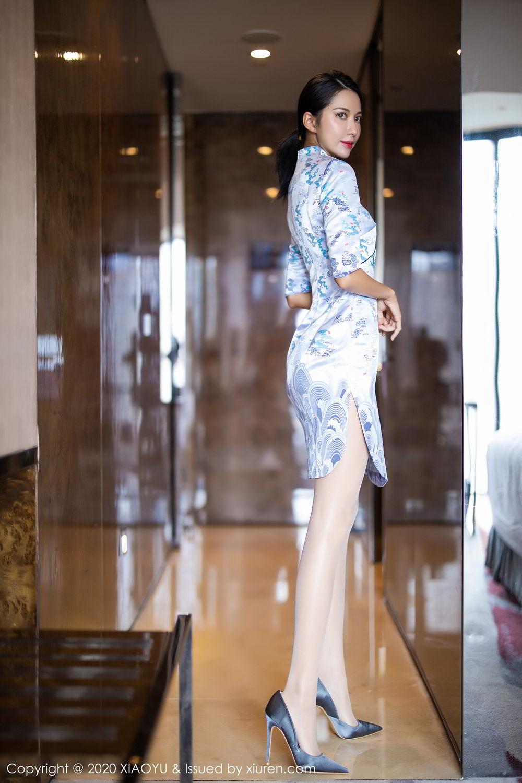 [XiaoYu] Vol.304 Carry 7P, Chen Liang Ling, Cheongsam, Tall, Temperament, Underwear, XiaoYu