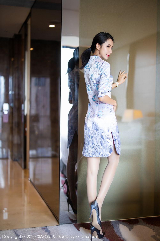 [XiaoYu] Vol.304 Carry 8P, Chen Liang Ling, Cheongsam, Tall, Temperament, Underwear, XiaoYu