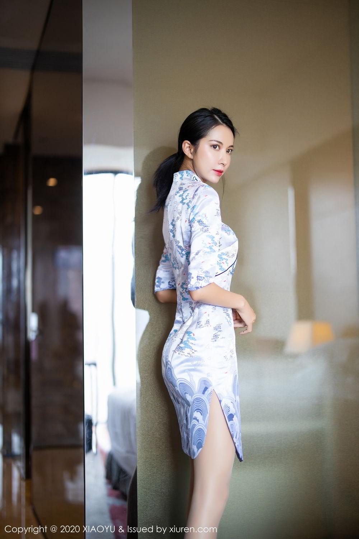 [XiaoYu] Vol.304 Carry 9P, Chen Liang Ling, Cheongsam, Tall, Temperament, Underwear, XiaoYu