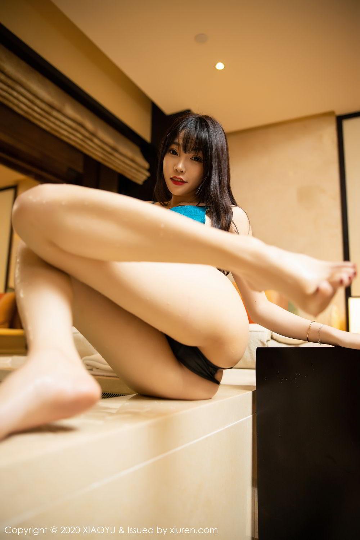 [XiaoYu] Vol.306 Zhi Zhi Booty 59P, Big Booty, Black Silk, Chen Zhi, Cheongsam, Underwear, XiaoYu