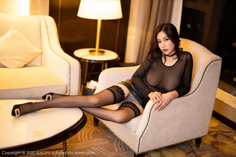 [XiaoYu] Vol.307 Zhou Si Qiao 39P, Black Silk, XiaoYu, Zhou Si Qiao