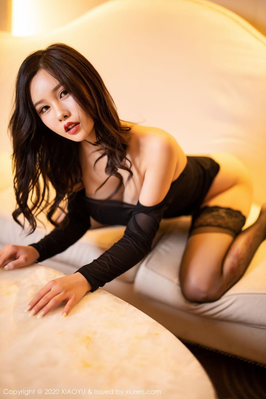 [XiaoYu] Vol.307 Zhou Si Qiao 88P, Black Silk, XiaoYu, Zhou Si Qiao