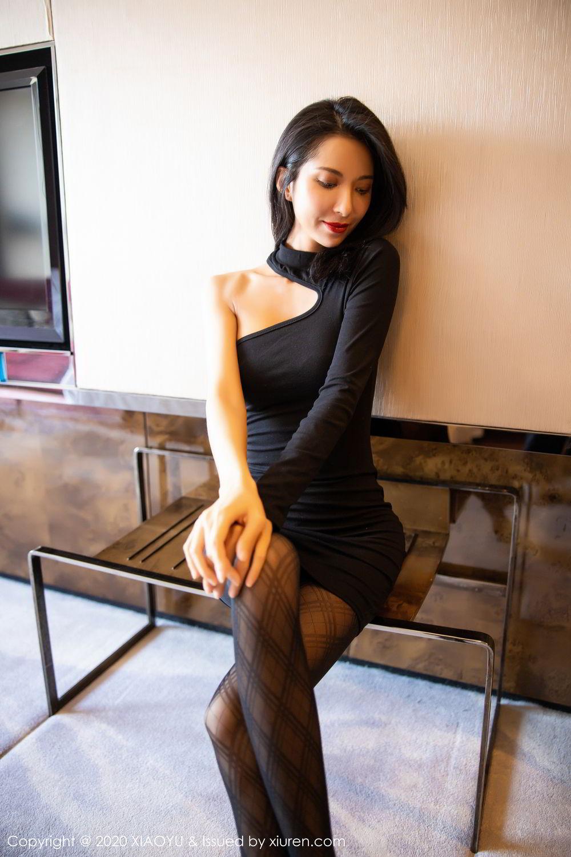 [XiaoYu] Vol.308 Carry 11P, Black Silk, Chen Liang Ling, Tall, Temperament, XiaoYu