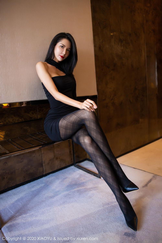 [XiaoYu] Vol.308 Carry 14P, Black Silk, Chen Liang Ling, Tall, Temperament, XiaoYu