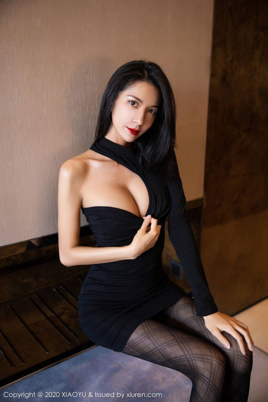 [XiaoYu] Vol.308 Carry 1P, Black Silk, Chen Liang Ling, Tall, Temperament, XiaoYu