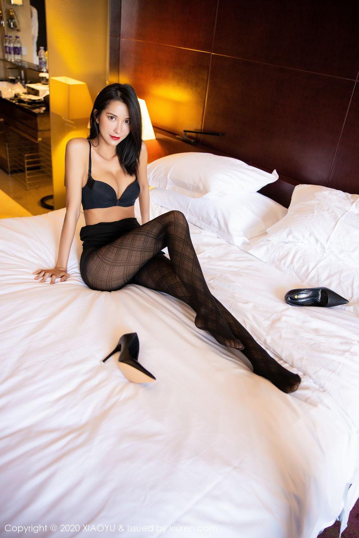 [XiaoYu] Vol.308 Carry 78P, Black Silk, Chen Liang Ling, Tall, Temperament, XiaoYu