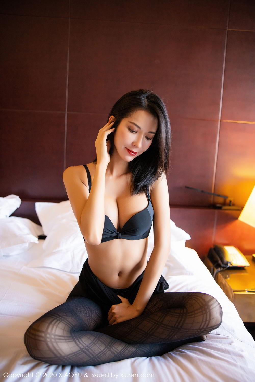 [XiaoYu] Vol.308 Carry 87P, Black Silk, Chen Liang Ling, Tall, Temperament, XiaoYu