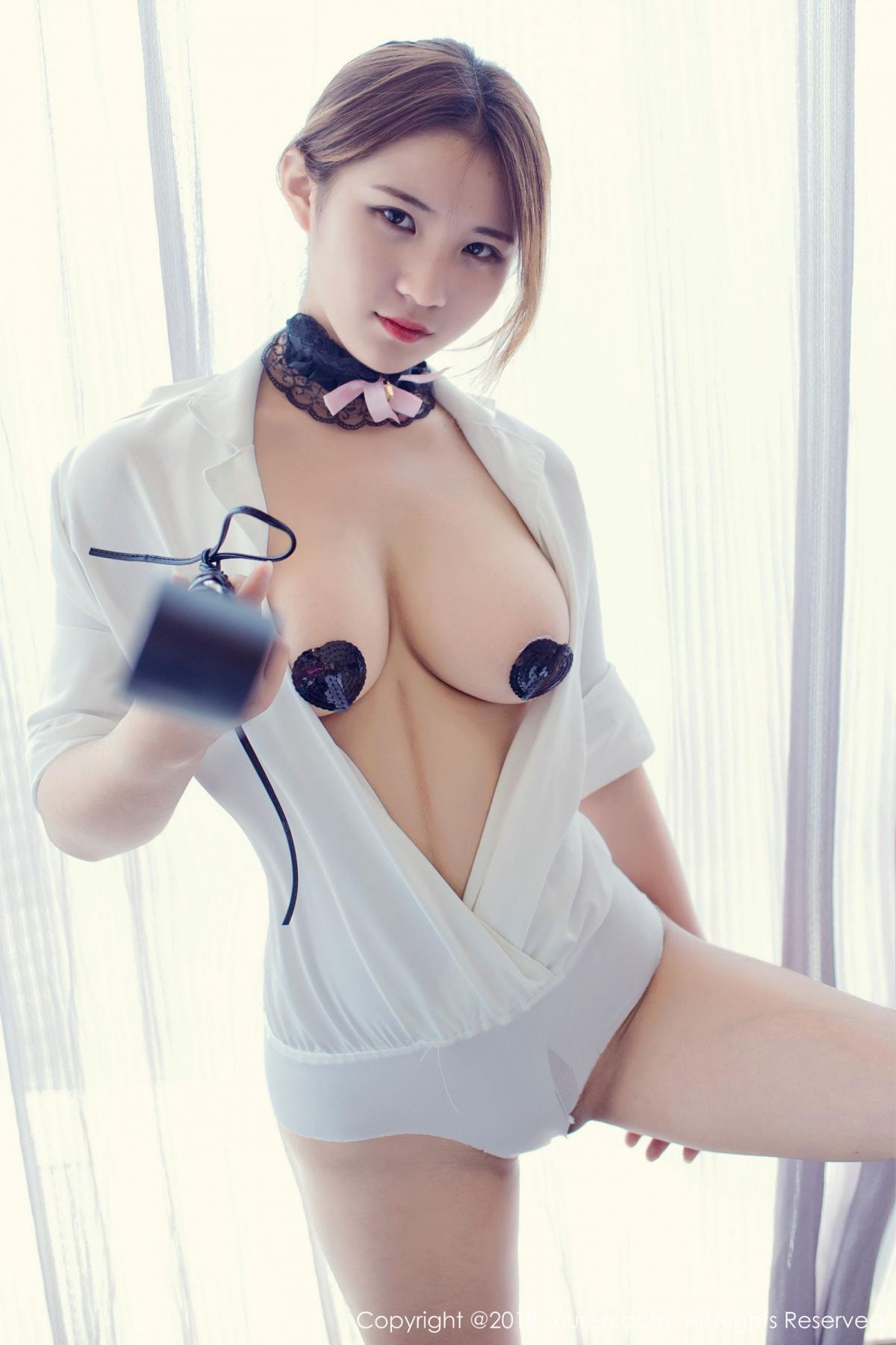 [XiuRen] Vol.1166 Jiu Jiu Aimee 7P, Jiu Jiu Aimee, Stewardess, Xiuren