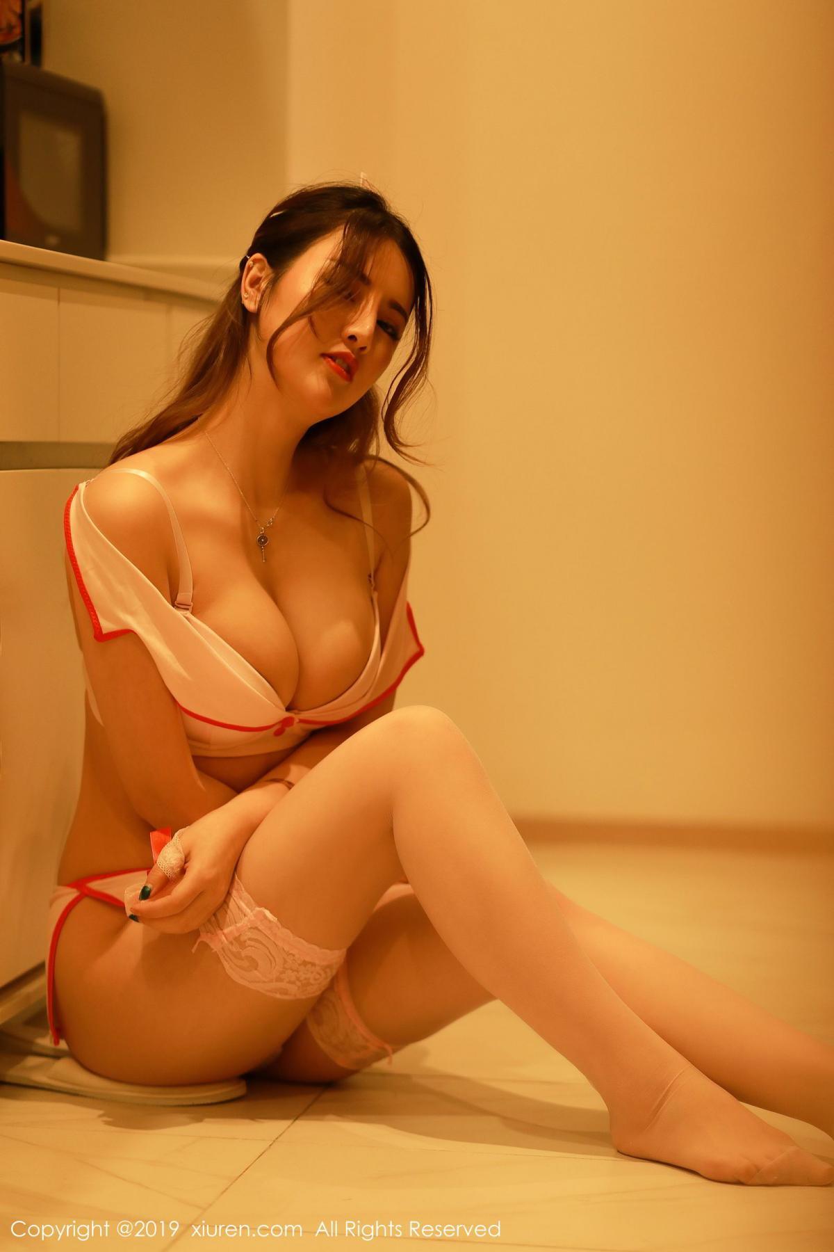 [XiuRen] Vol.1476 Chen Shi Shi 39P, Chen Shi Shi, Nurse, Sexy, Uniform, Xiuren