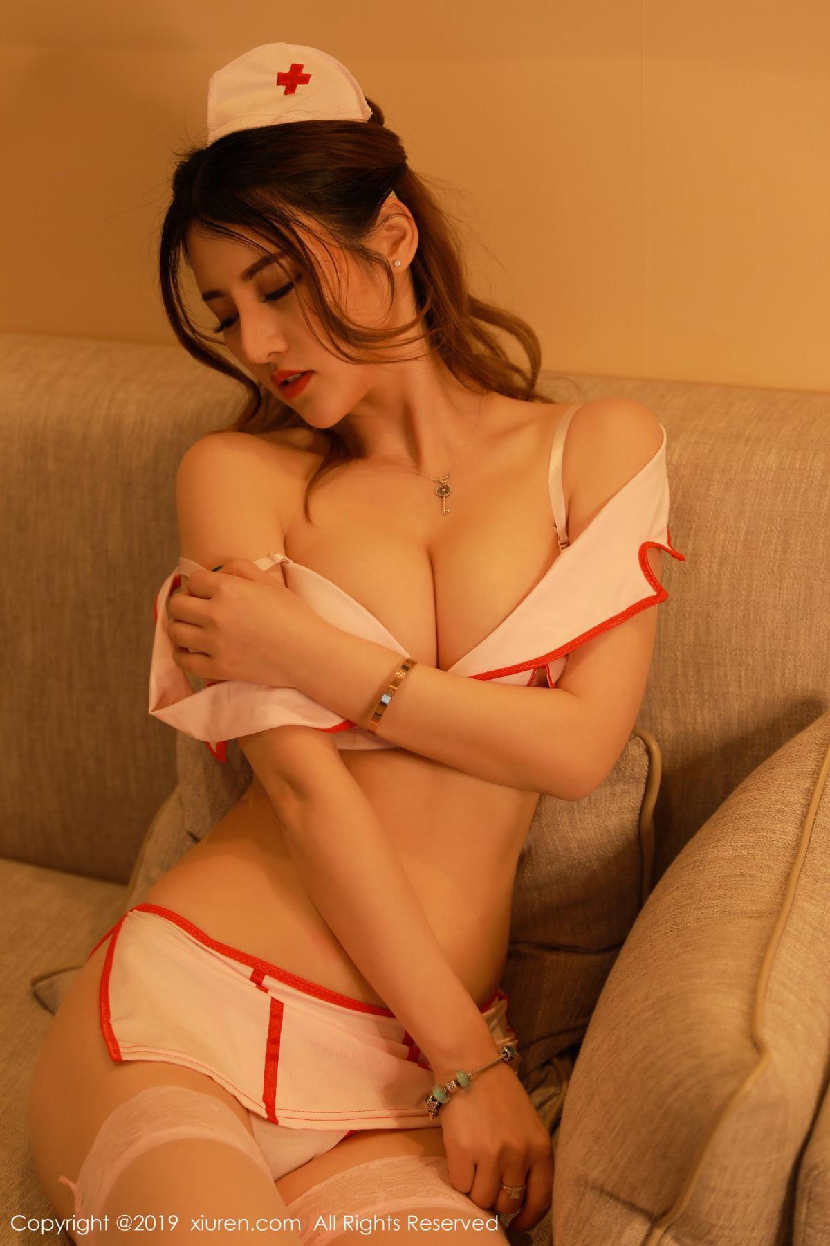 [XiuRen] Vol.1476 Chen Shi Shi 8P, Chen Shi Shi, Nurse, Sexy, Uniform, Xiuren