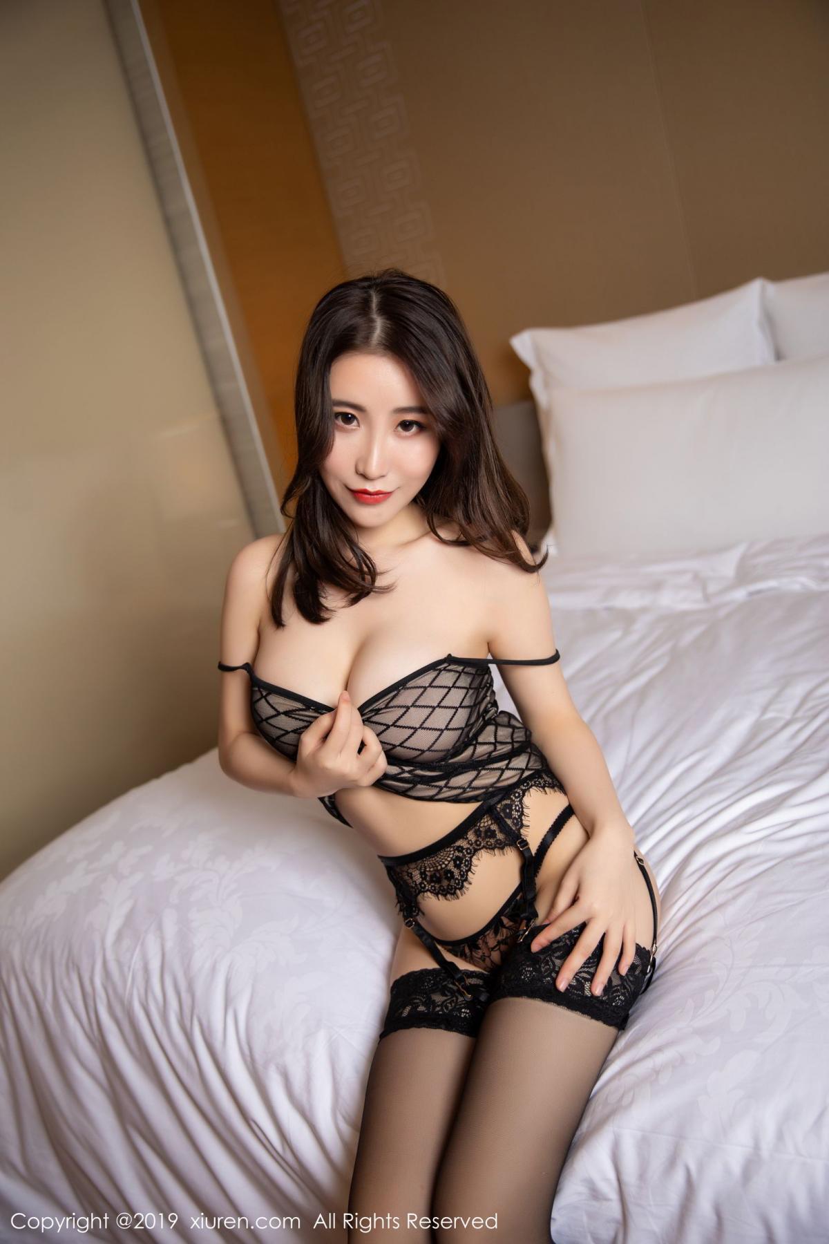 [XiuRen] Vol.1489 Xie Zhi Xin 63P, Black Silk, Tall, Xie Zhi Xin, Xiuren