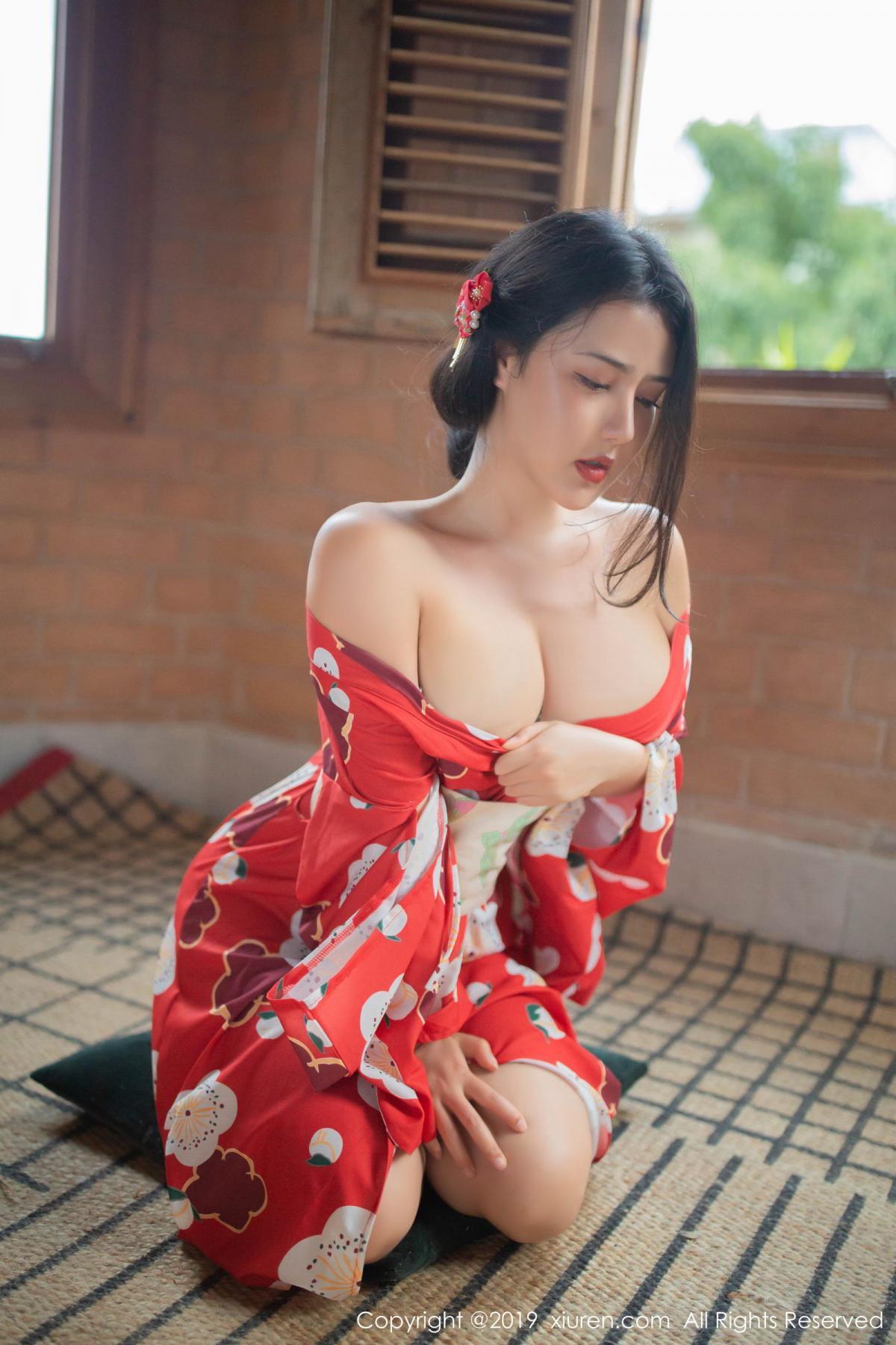 [XiuRen] Vol.1492 Ma Lu Na 12P, Adult, Kimono, Ma Lu Na, Xiuren