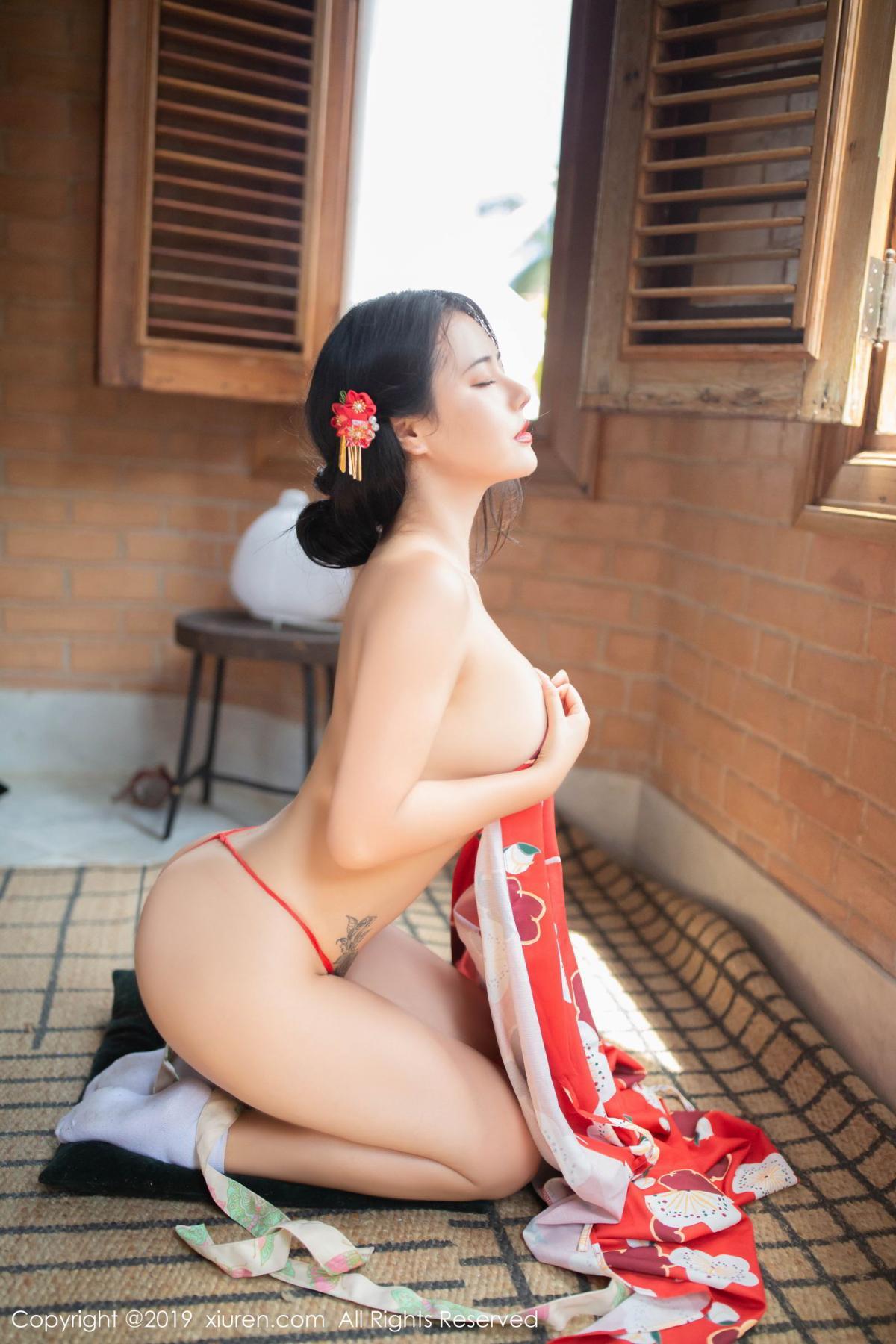 [XiuRen] Vol.1492 Ma Lu Na 14P, Adult, Kimono, Ma Lu Na, Xiuren