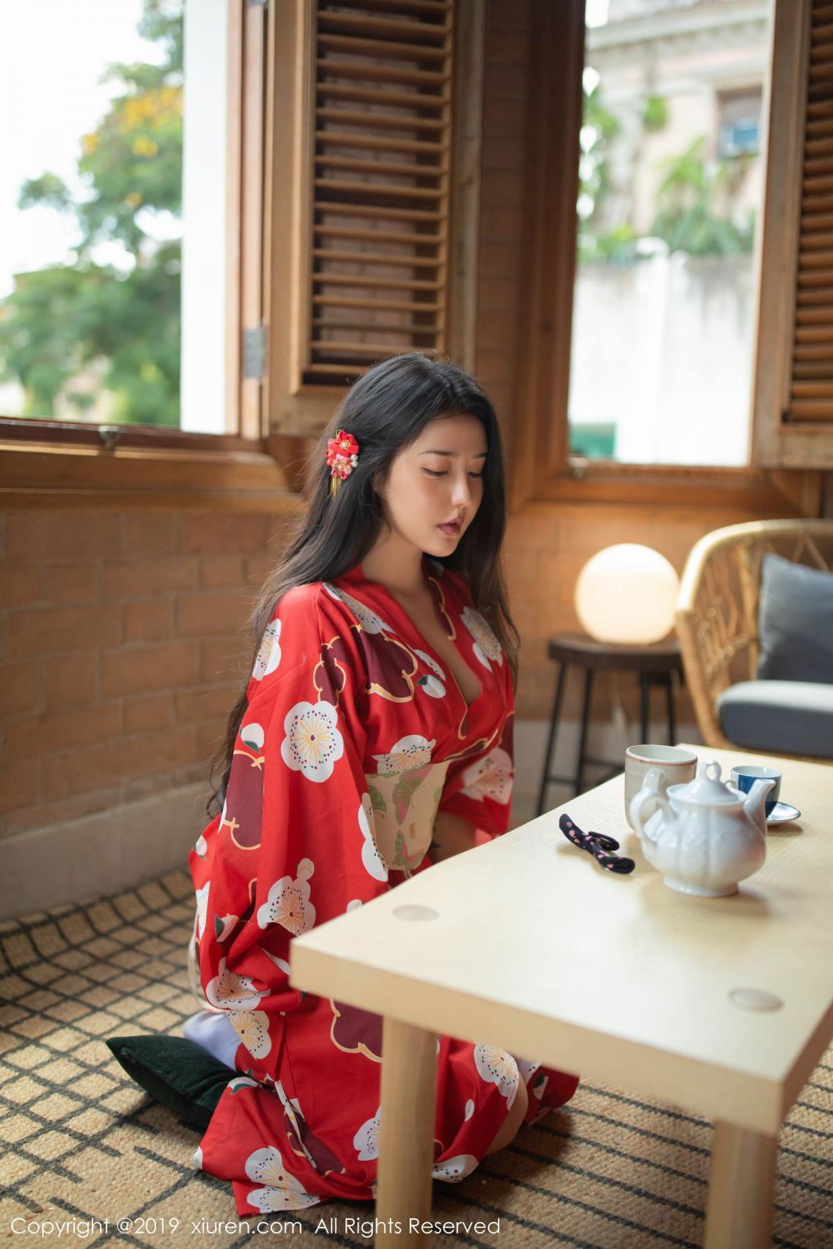 [XiuRen] Vol.1492 Ma Lu Na 1P, Adult, Kimono, Ma Lu Na, Xiuren